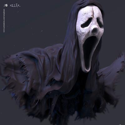 Surajit sen killer digital sculpture surajitsen sept2019