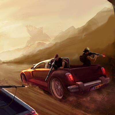 Yury volkov desert racing