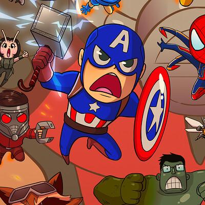 Lucas fowl avengers jpg