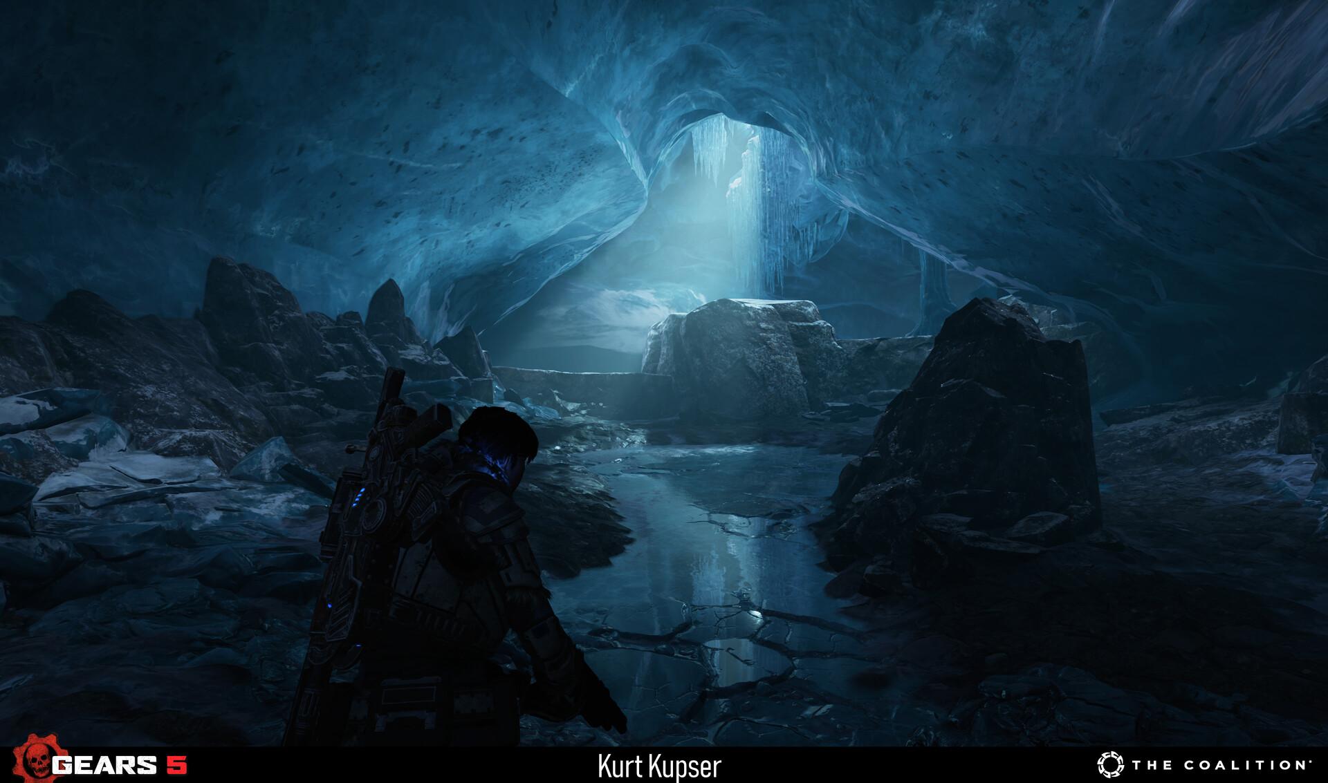 Kurt kupser ice cave game1