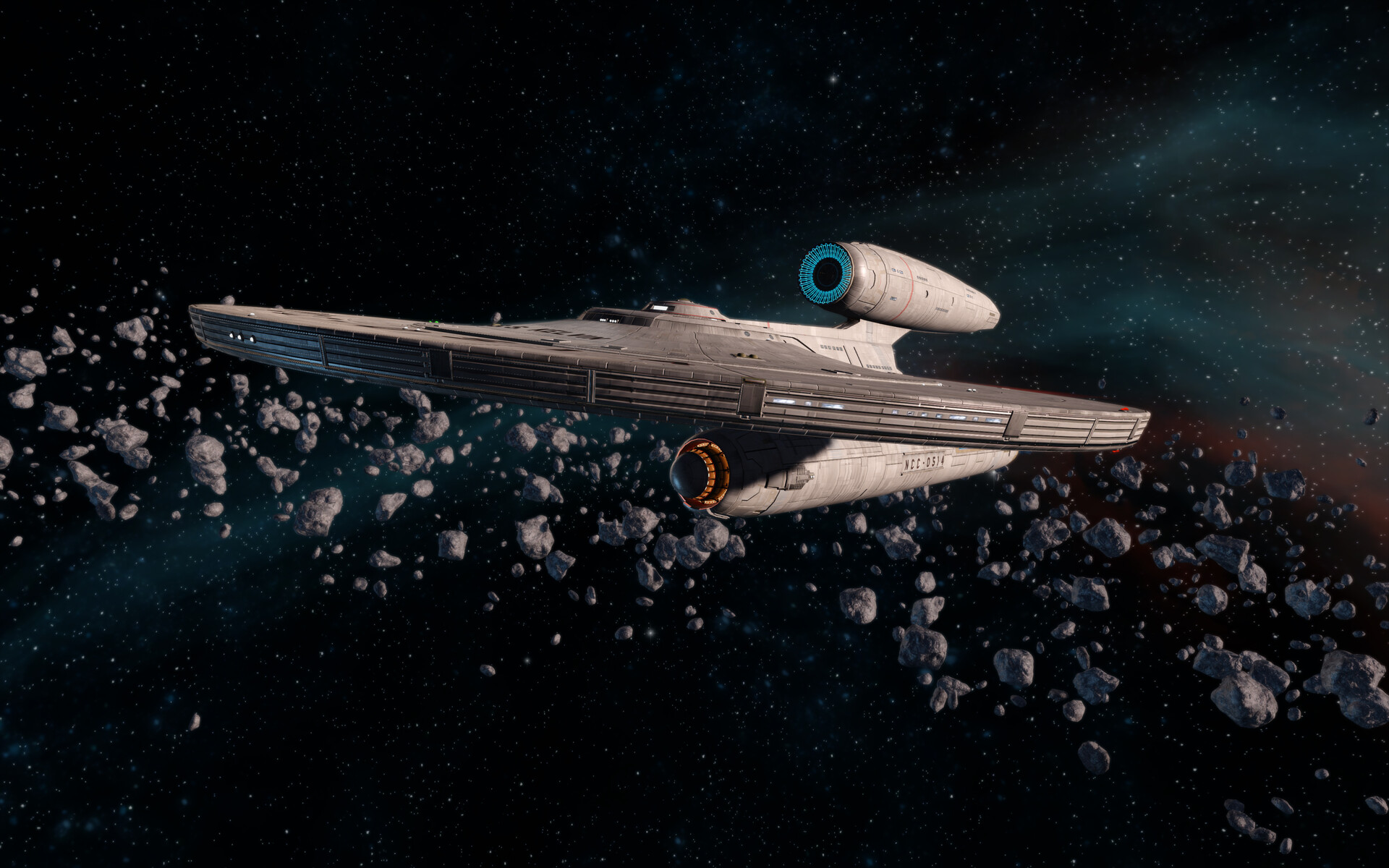 Star Trek Online in-game screenshot - Model by Tobias Richter, material by Thomas Marrone
