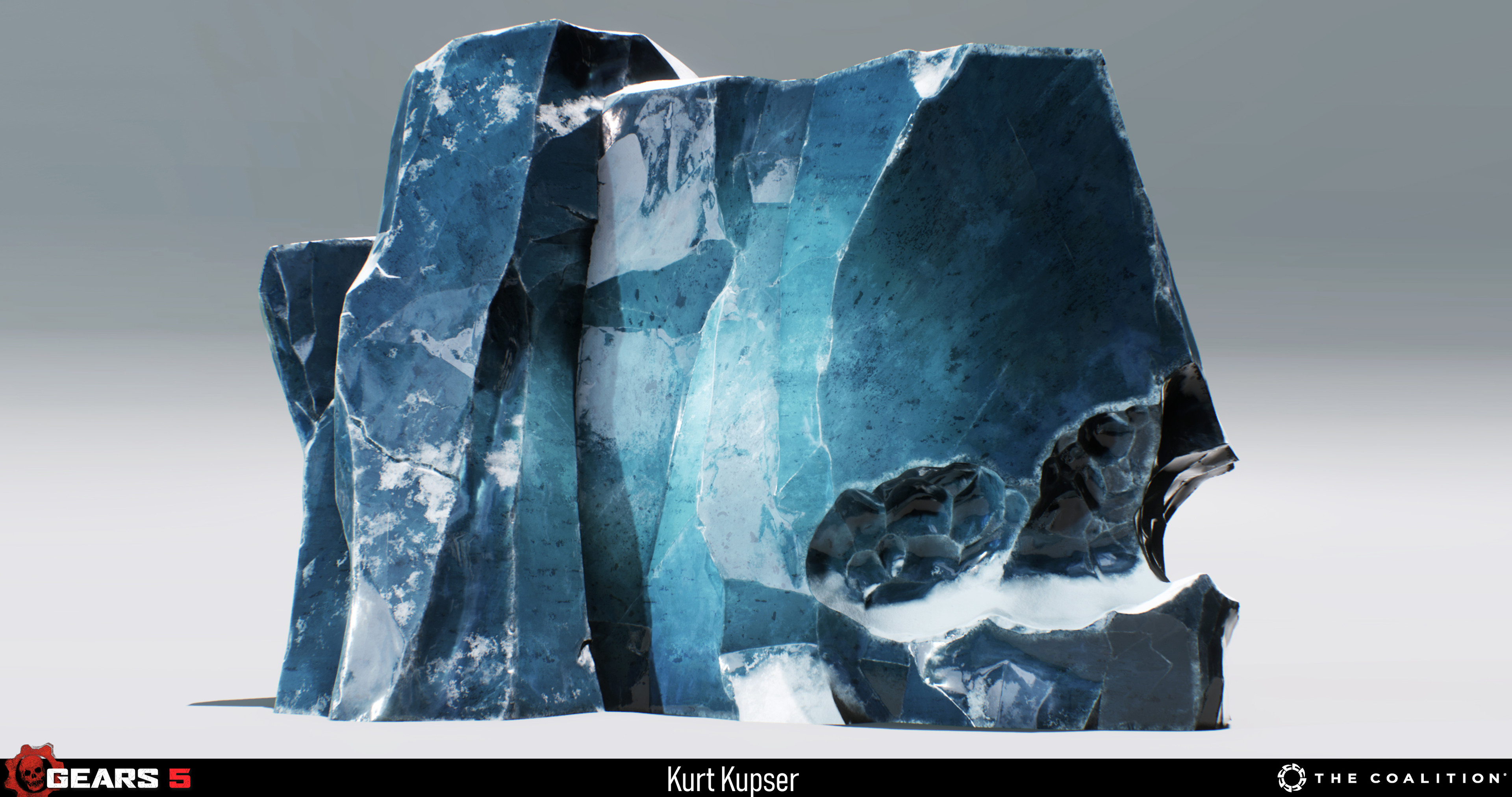 Ice Cliff asset made by myself