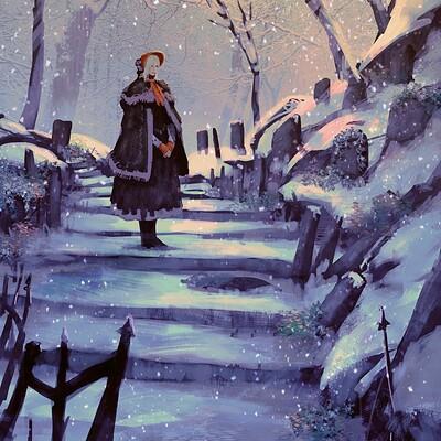 Anato finnstark are you cold oh good hunter bloodborne by anatofinnstark dcu5r1h fullview 3