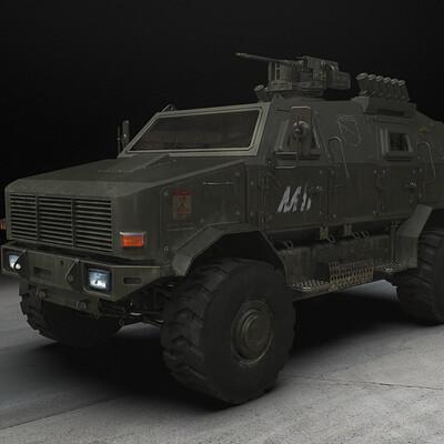 Oskar mnich armoredcar