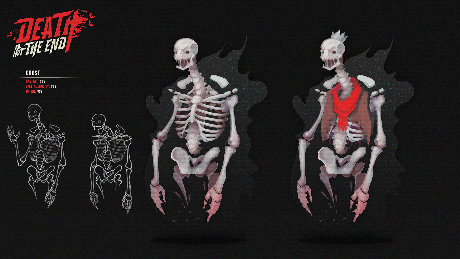 Early creature concepts