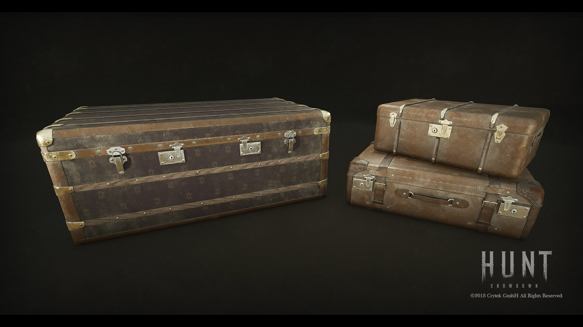 Luggage Closeup