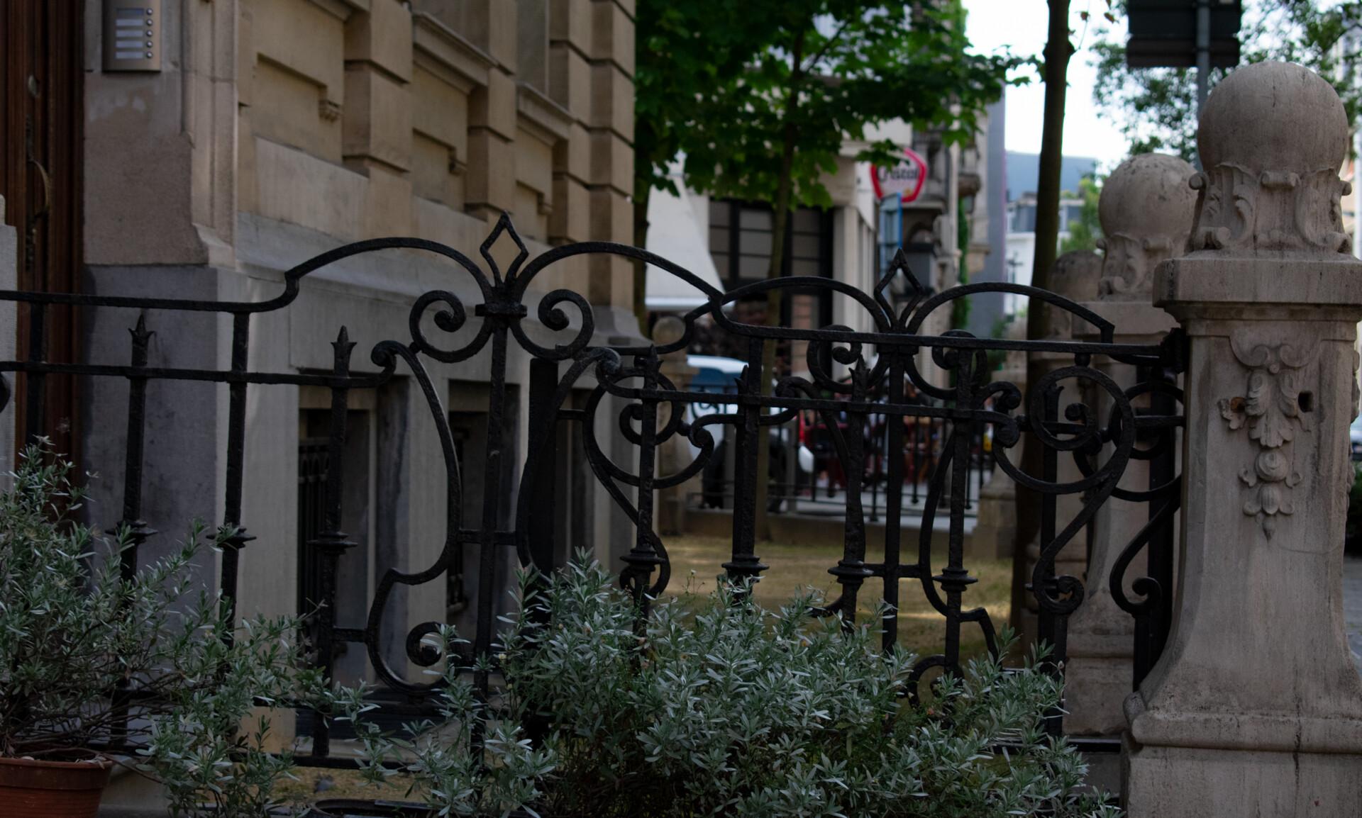 Celestial Art Nouveau Fence