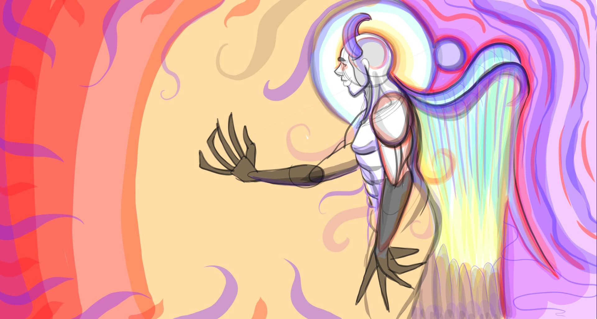 psy demon angel