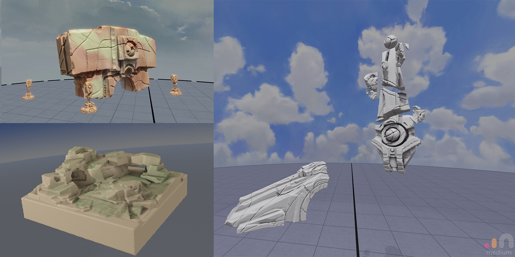 Brian higgins oculusmedium sketches ruins
