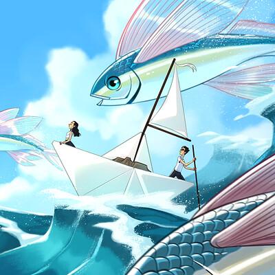 Pedro hernandez vasquez barco de papel 2