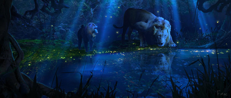 Le Roi Lion [Disney - 2019] - Page 34 Finnian-macmanus-rafiki-pond-fm