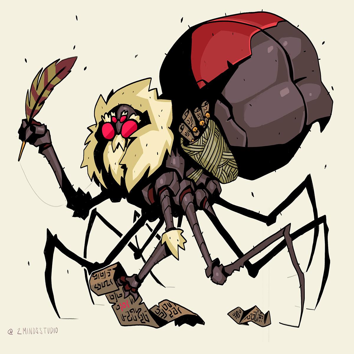 Spider Bibliotecary