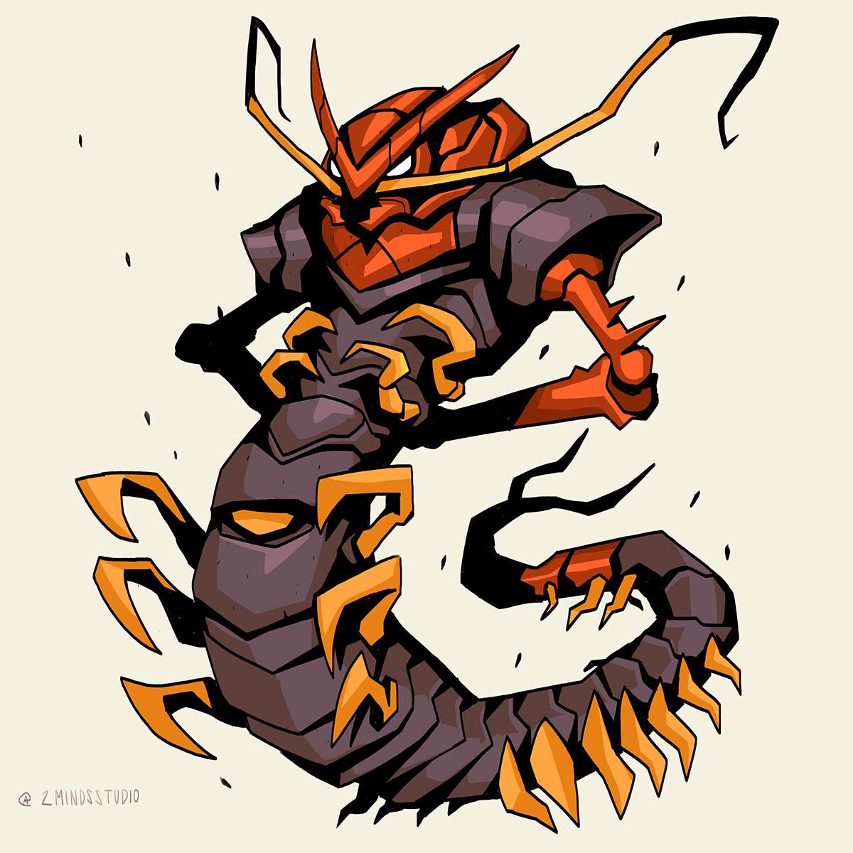 Centipede General.