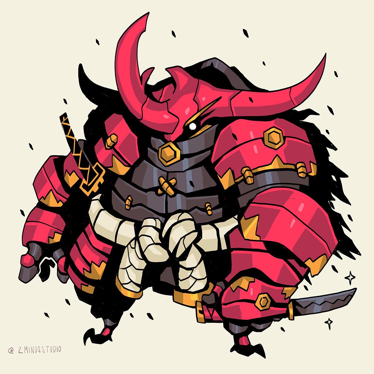 Kabuto, son of the Queen.