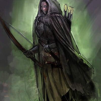 Pradal aurele elves warrior