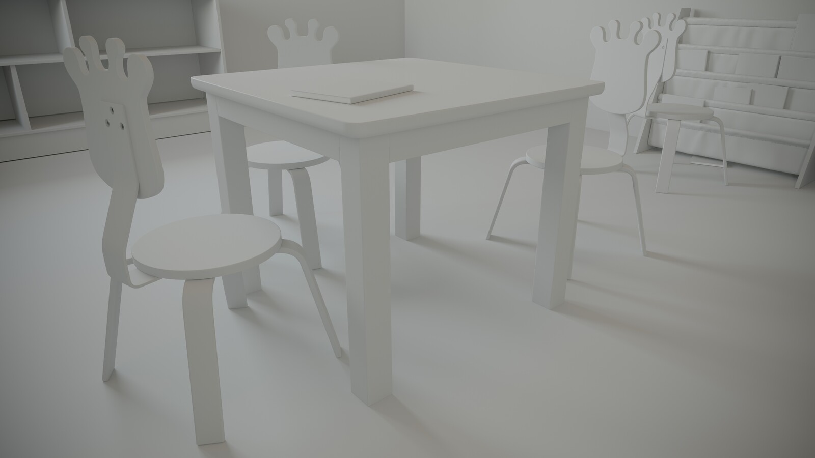 Virtual Reality Preschool Environment - WIP