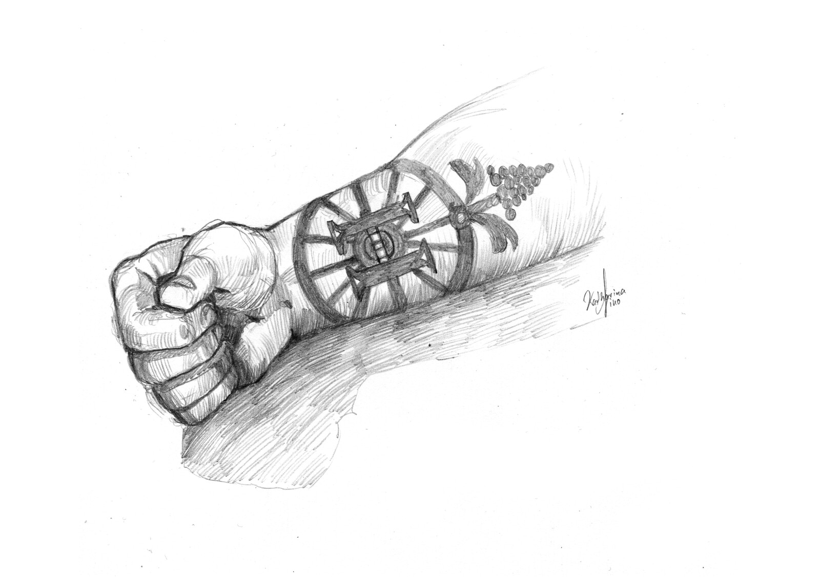EARTHDAWN: A tattooed symbol of a merchant house