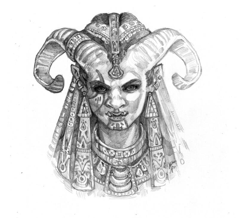 EARTHDAWN: A troll lady