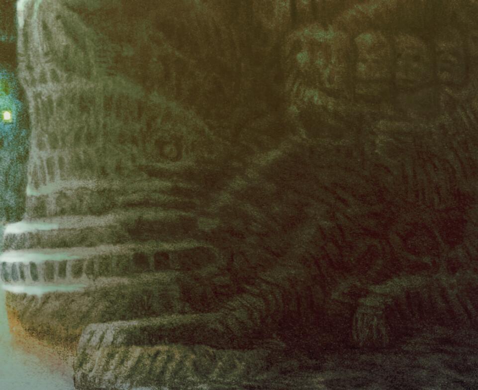 Giant Monkey Totem