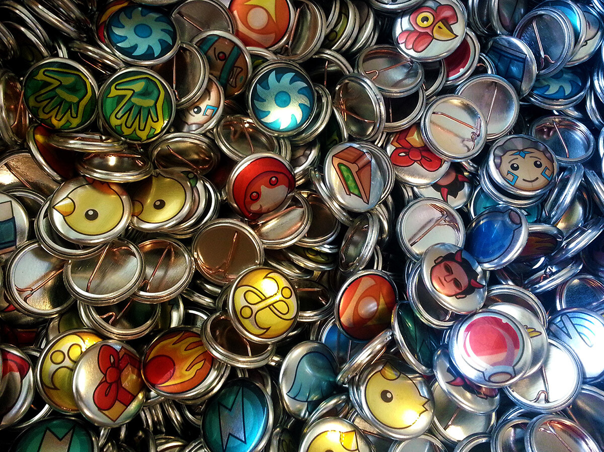 Some icons even made it as promotional badges for E3 2013!