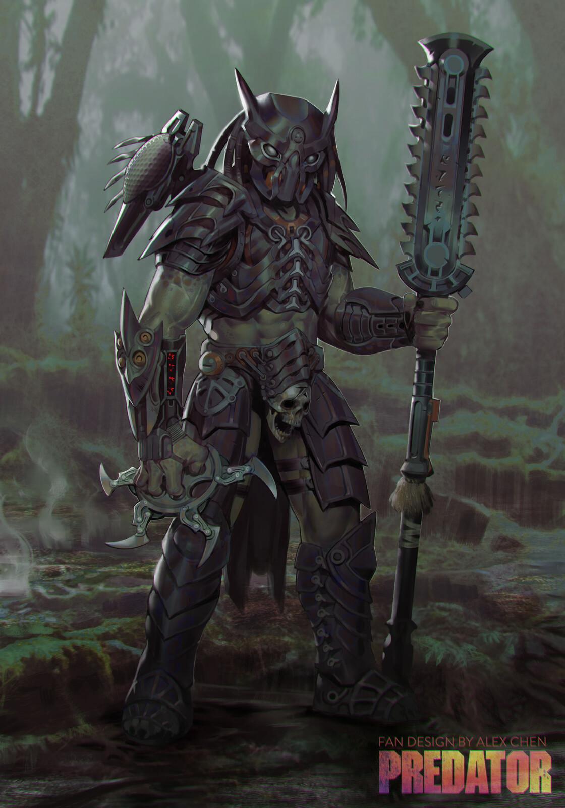 Dark Predator - Fan Design