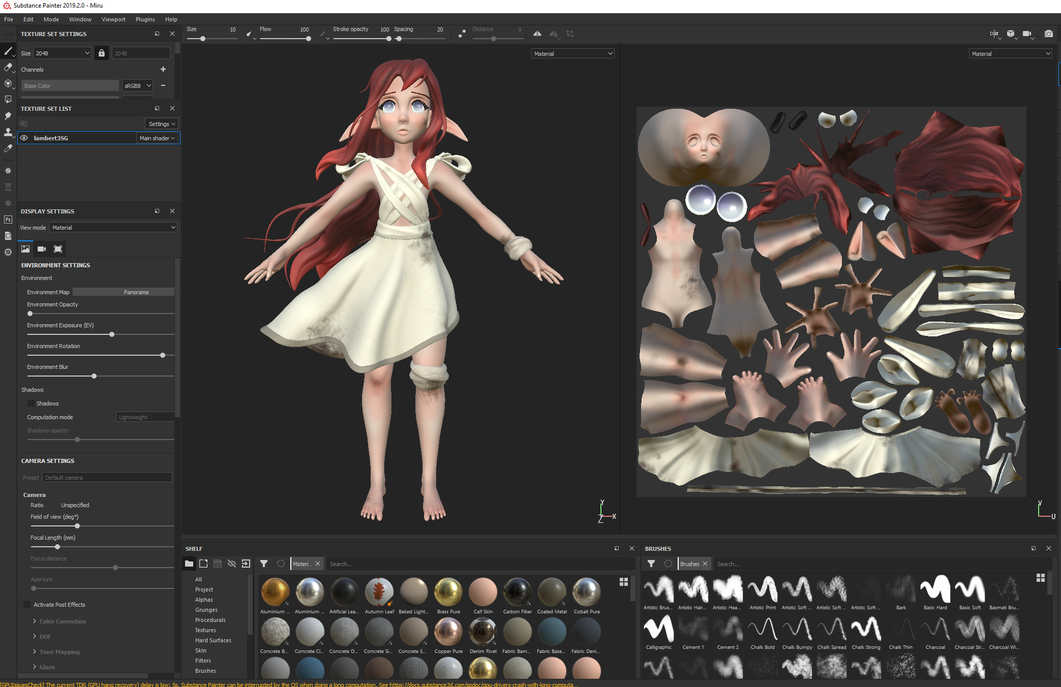Substance Painter Workflow