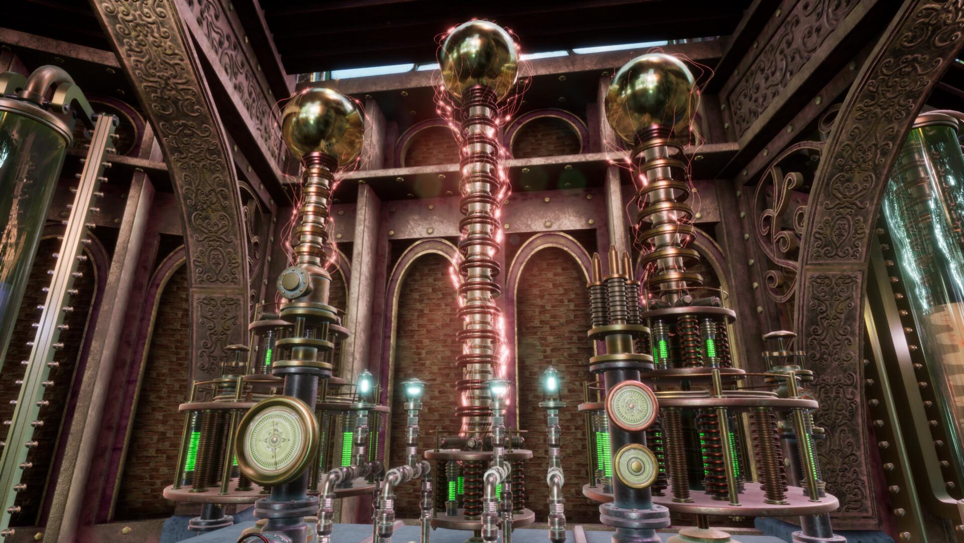 Artstation Steampunk Workshop Tesla Coils Chetan Biswas