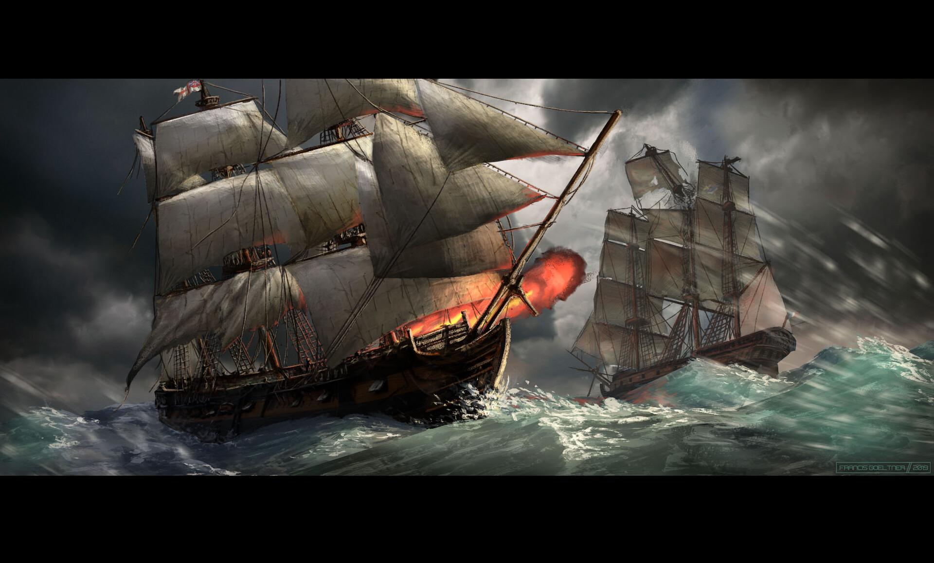 Ship Battle (200 min)