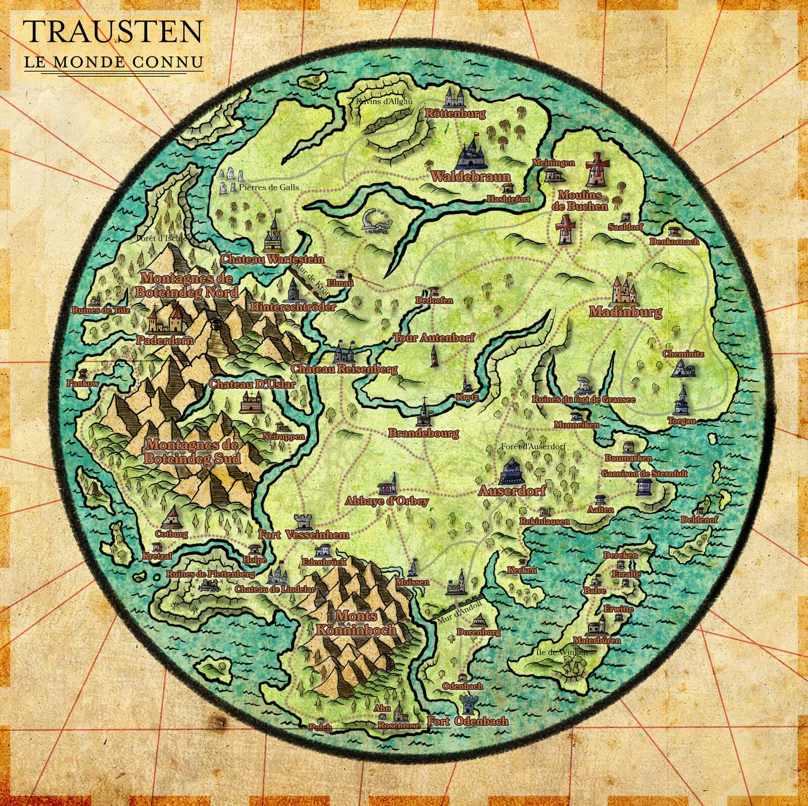 Trausten, le monde connu