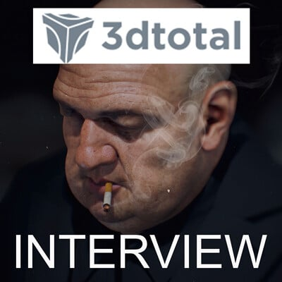 New interview on 3dtotal!