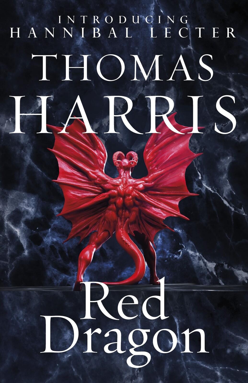 Official artwork for Red Dragon novel.