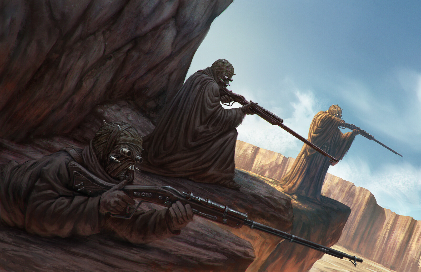 Tusken Raiders |  Star Wars: Gadgets and Gears Book