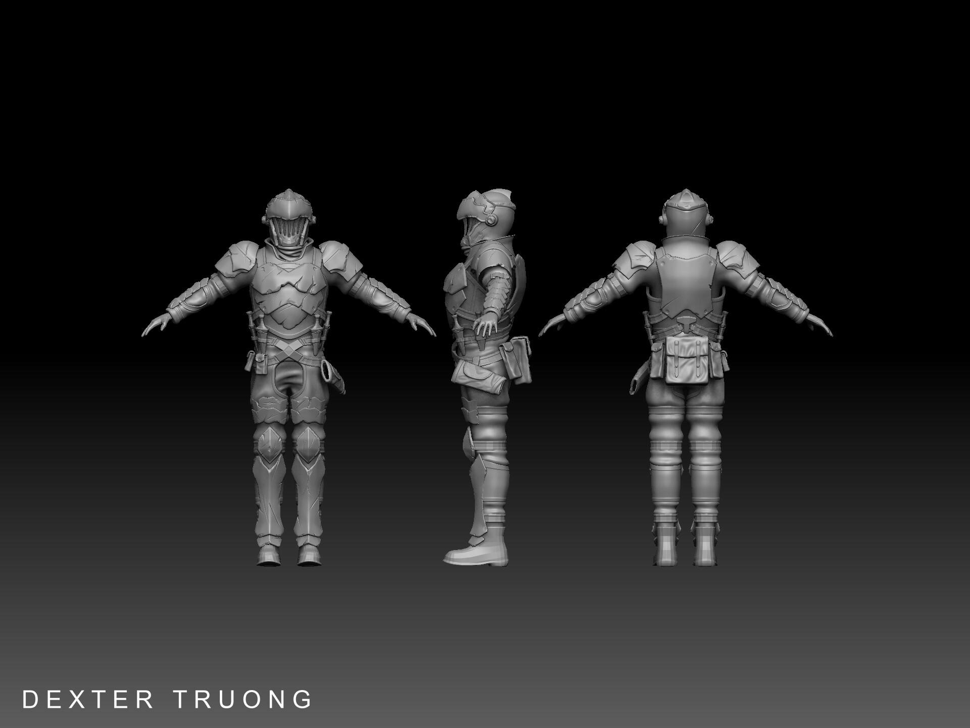 Artstation Goblin Slayer Game Ready Model Dexter Truong