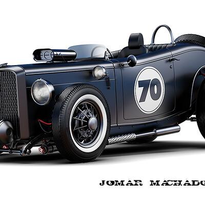 Jomar machado 213 hot rod 70