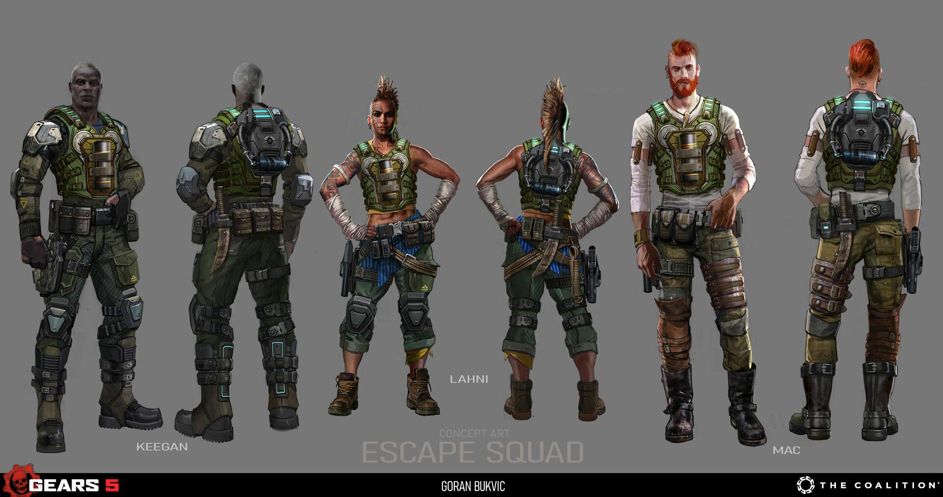 Goran bukvic escape squx 01