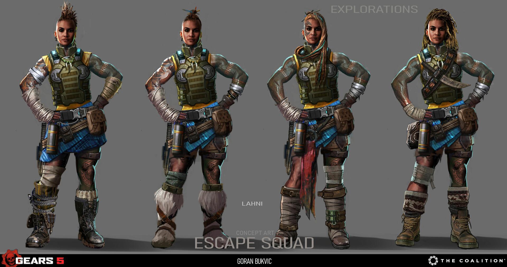 Goran bukvic escape squx 02