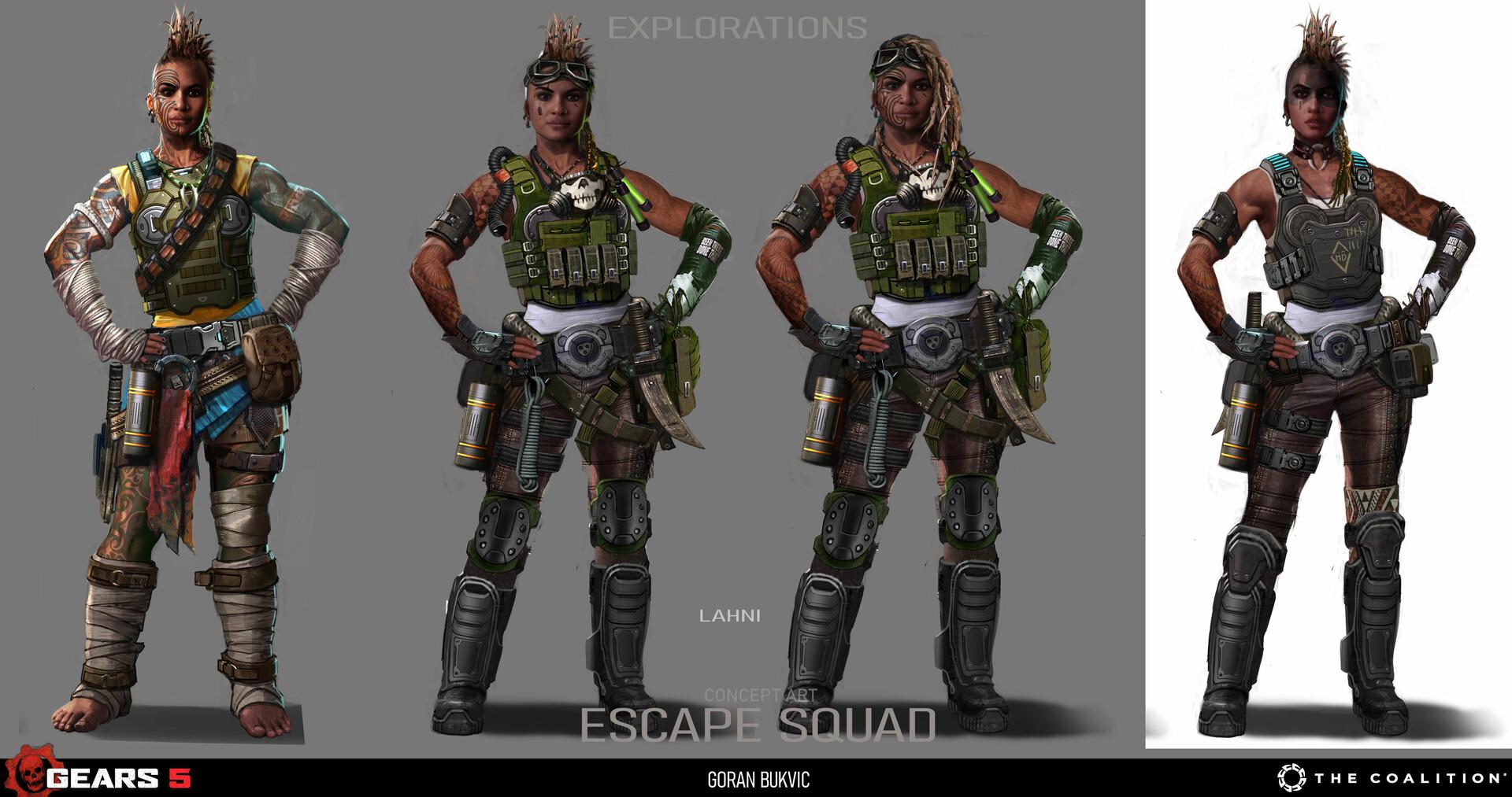 Goran bukvic escape squx 03