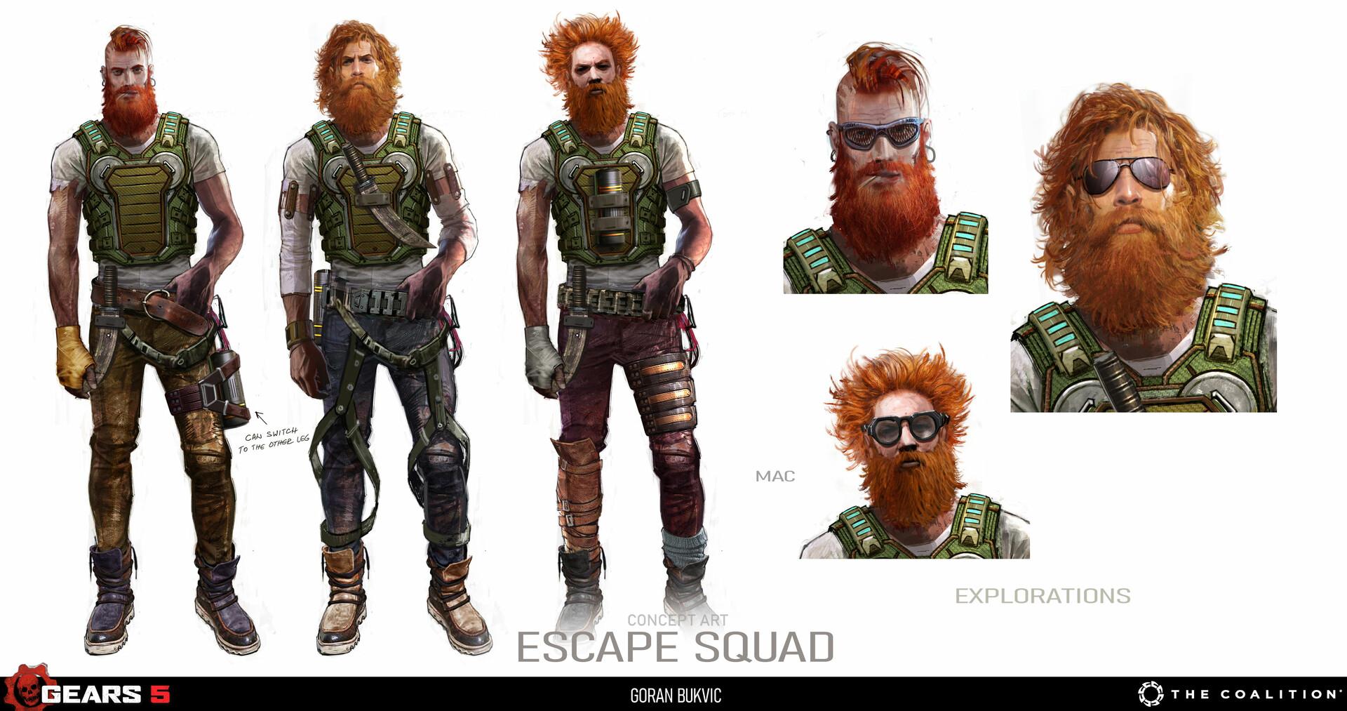 Goran bukvic escape squx 05