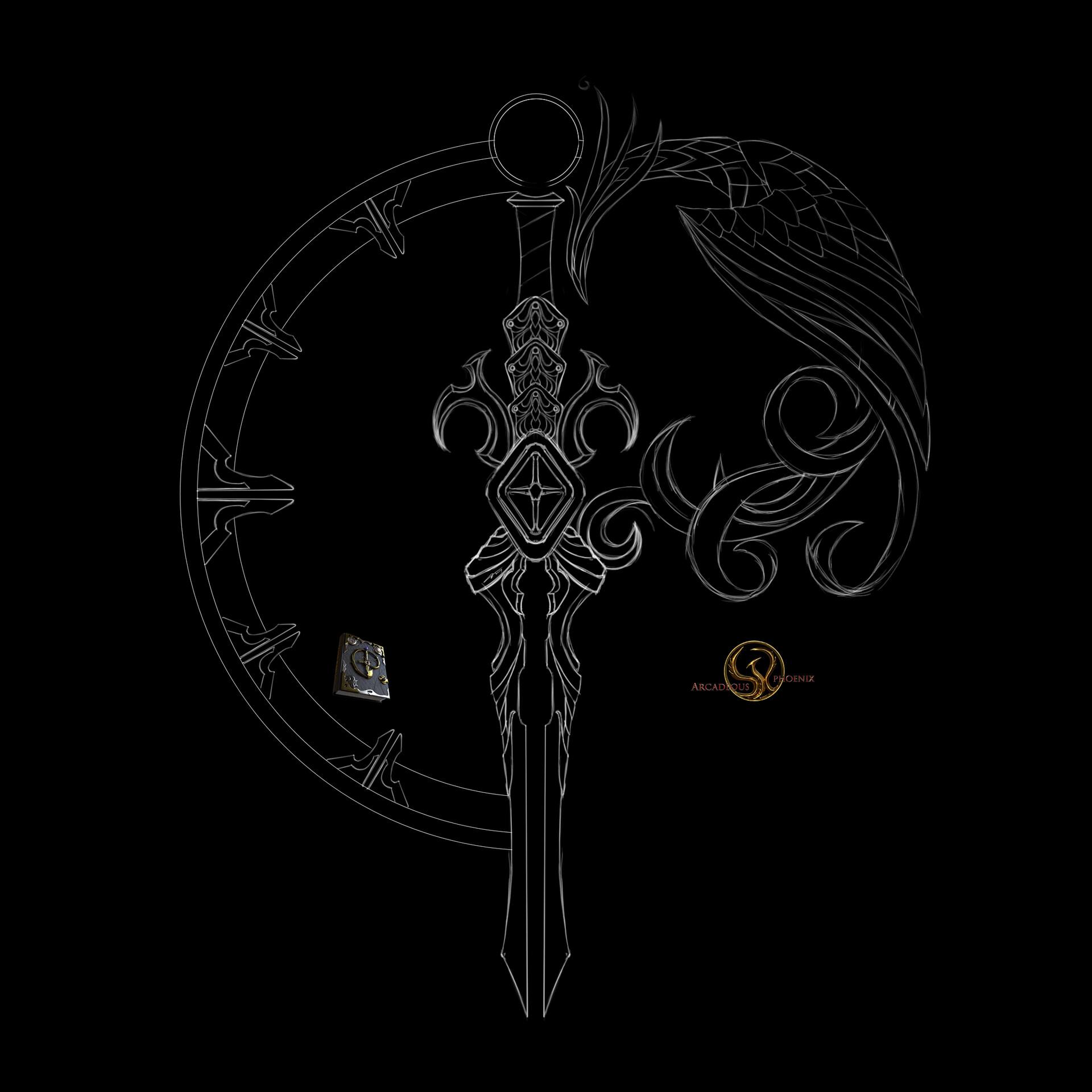 Arcadeous phoenix gp logo 2019