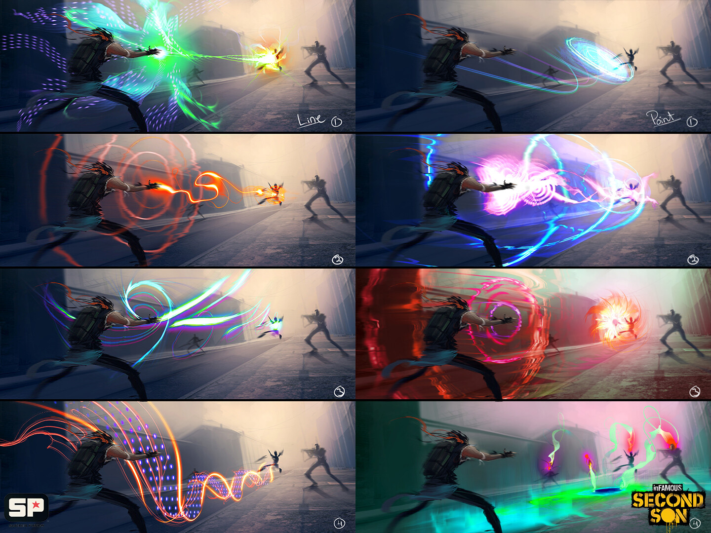 Laser attack conepts