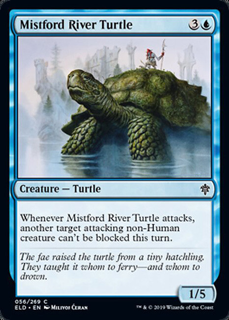 "- ""Mistford River Turtle"", Milivoj Ćeran 2018