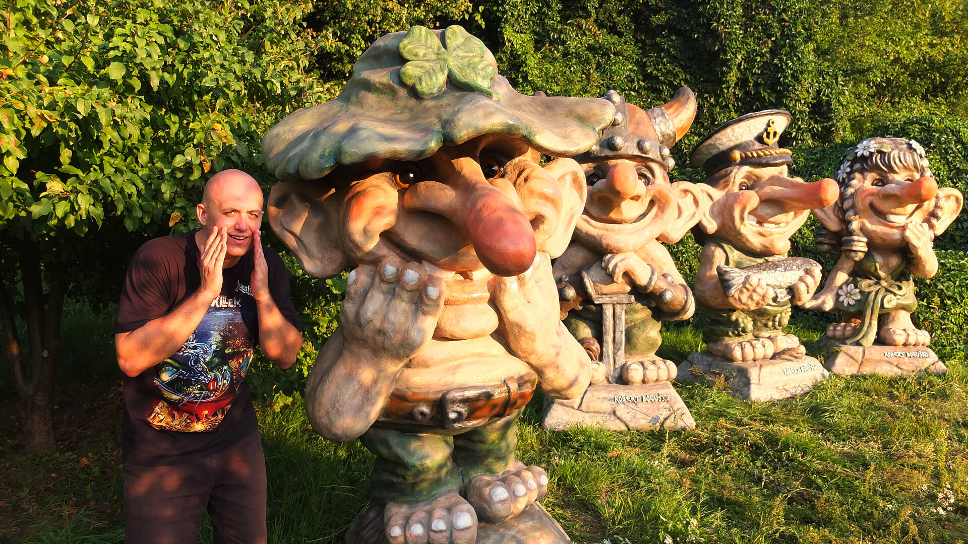 Artstation Scandinavian Trolls Norwegian Troll Norway Fiberglass Sculptures Figures Statues Monuments Robert Bogusko