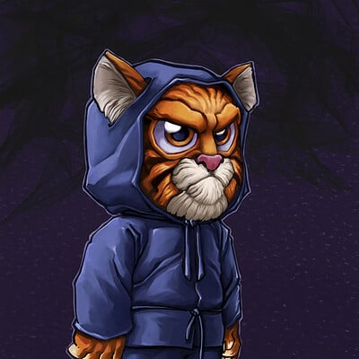 Renaud guyomard ninja chaton