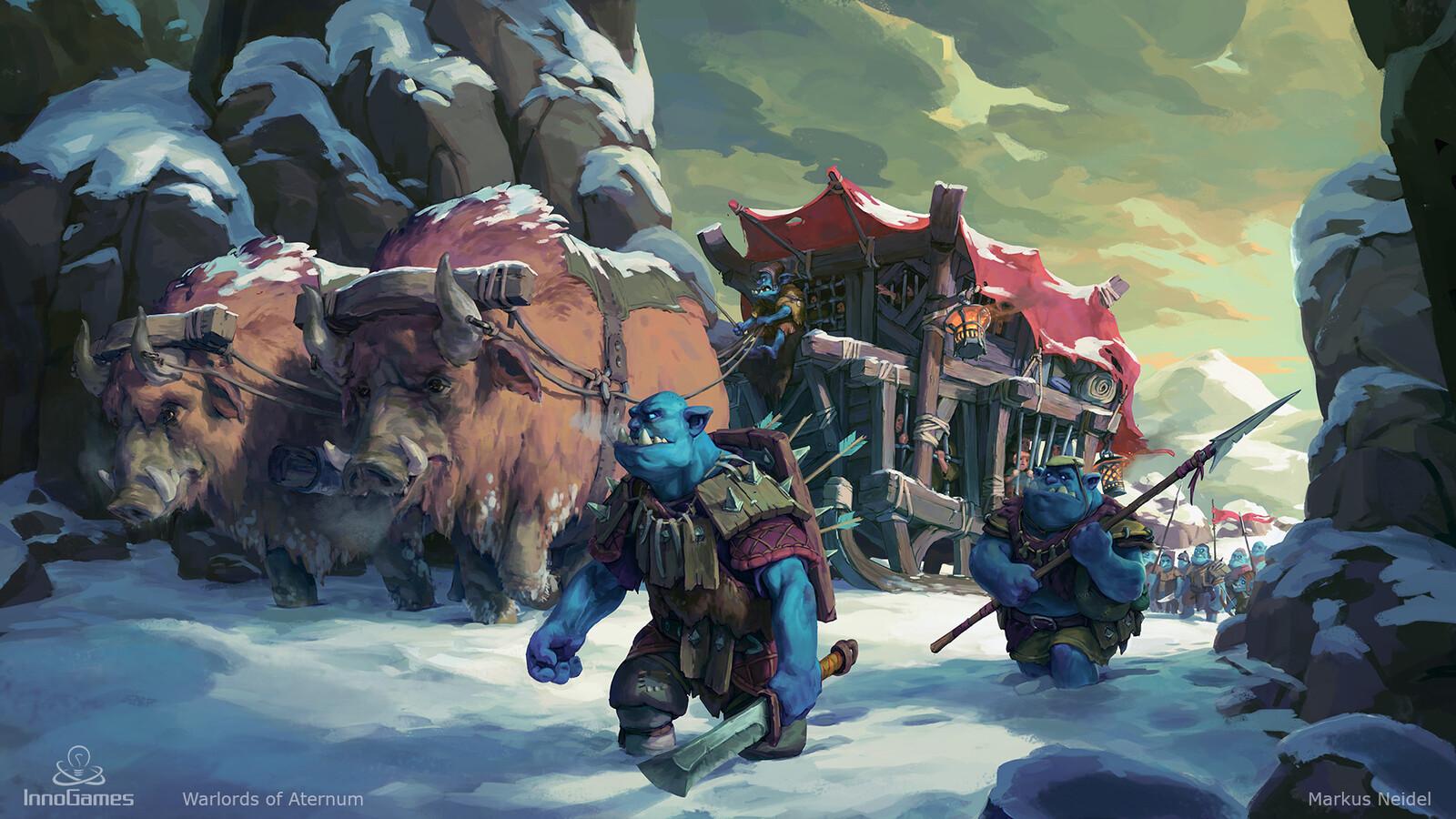 Snow Orcs Prey