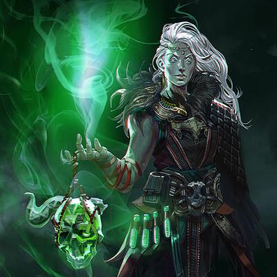 Lady Necromancer