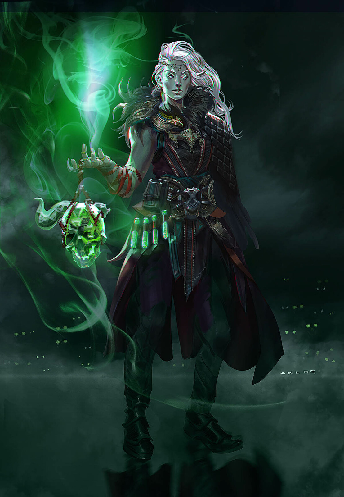 Lady Necromancer