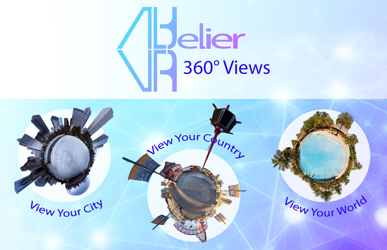 Concept postcard for Altelier VR (front side)
