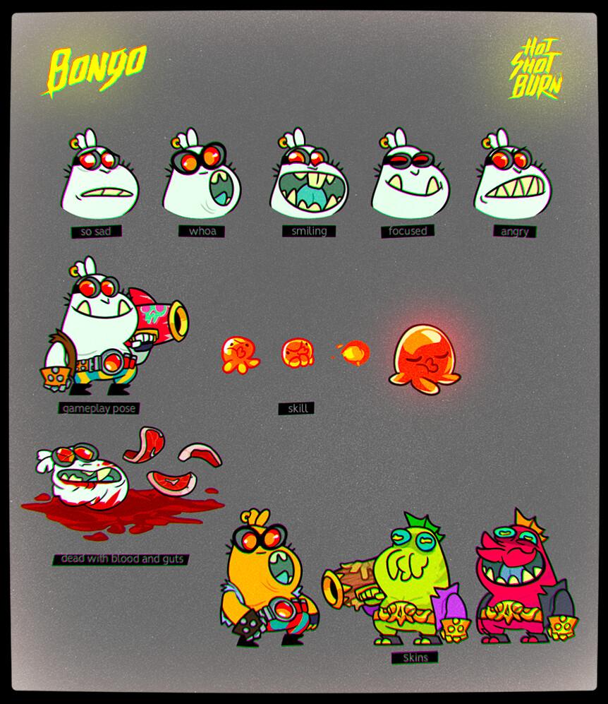 Vincent venoir bongo gameplayset