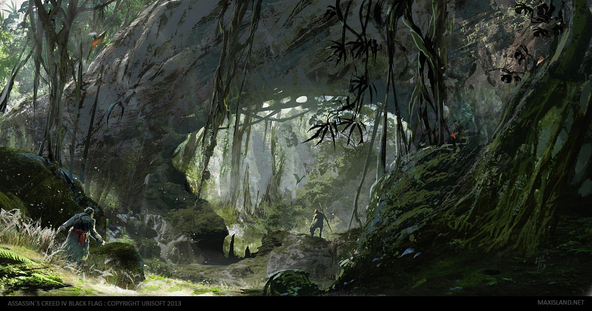 Exploring the Jungle area Photoshop (2012-2013)