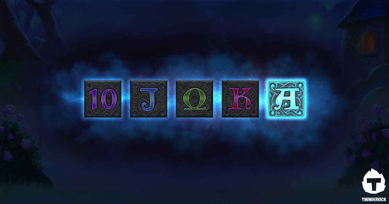 The presentation for low symbols become activated in the bonus game.